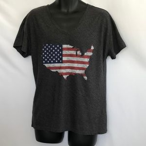 State of Mine American Flag/USA Tee